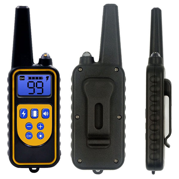 Dog Training Collar with 800 yards Wireless Remote WaterProof&Rechargeable for 2 dogs